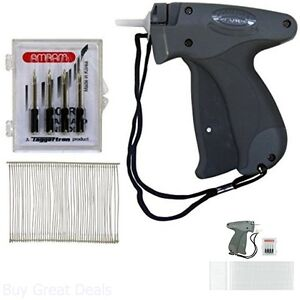 Standard Fastener Price Tag Label Attachment Garment Tagging Gun With 5 Needles