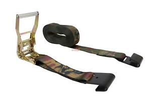 2 Ratchet Tie Down Strap With Flat Hook
