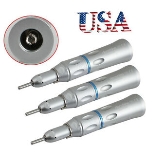 3x usa Dental Low Speed Handpiece Slow Straight Nose Cone Contra Angle Fit Nsk