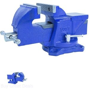 Bench Vise Clamp Jaw Rotation Vice Small Jobs Knife Gunsmithing Reloading Work