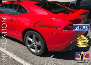 2 Chevrolet Camaro Back Vinyl Sticker Decals Chevy Graphics Sport Racing Autobot