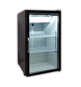 Master bilt Mbctm7 b Fusion Countertop Refrigerated Merchandiser W 2 Shelves