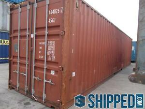 40ft Intermodal Cargo Container Home Storage Best Price In Texas We Deliver