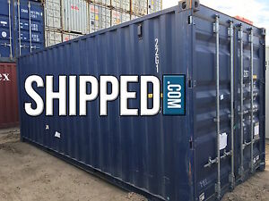 20 Ft Steel Shipping Container We Deliver Secure Home Storage In Slc Utah