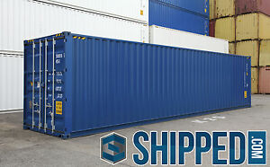40ft New High Cube Intermodal Shipping Container Secure Storage In Las Vegas Nv