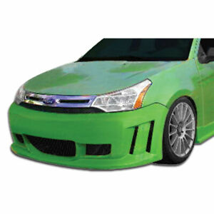 Piranha Front Bumper Body Kit 1 Pc For Ford Focus 08 11 Duraflex