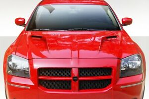 Challenger Look Hood Body Kit 1 Pc For Dodge Magnum 05 07 Duraflex
