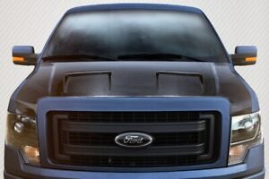 D F 150 Dritech Air Hood 1 Piece Fits Dodge Ram 09 14 Carbon Creations