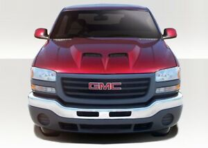 Gmc Sierra Yukon Air Hood 1 Piece Fits Dodge Ram 99 06 Duraflex