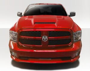 1500 Rk s Air Hood 1 Piece Fits Dodge Ram 09 18 Duraflex