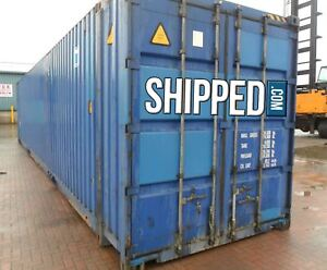 Huge 45ft Used High Cube Shipping Container We Deliver Anywhere In Ny