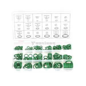 R134a 270pcs Green Car A C System Air Conditioning O Ring Seals Assortment Kit