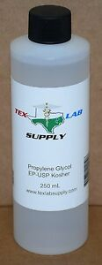 Tex Lab Supply Propylene Glycol pg Nf fcc ep usp 250 Ml Qty 20