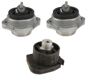 For Bmw E53 X5 Set Of 3 Automatic Transmission Engine Motor Mounts