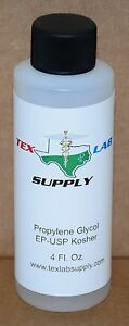 Tex Lab Supply Propylene Glycol pg Nf fcc ep usp 4 Fl Oz Qty 10