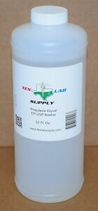 Tex Lab Supply Propylene Glycol pg Nf fcc ep usp 33 8 Fl Oz Qty 4