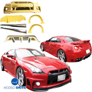 Modelodrive Frp Wal Biso Body Kit For Nissan Gt r Gtr R35 09 15
