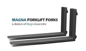 New Forklift Forks 60 Long Class 2 6000 Capacity Free Shipping Magna