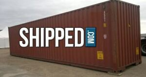 Lowest Price 40ft Used Shipping Containers We Deliver Savannah Georgia