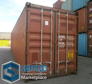 Shipping Container Delivery Miami Fl Used 40ft High Cube Secure Home Storage