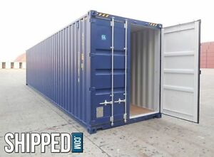 Best Price New 40ft High Cube Intermodal Shipping Container We Deliver Tampa Fl