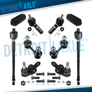 Inner Outer Tierods Ball Joints For 1992 1993 1994 1995 1996 Toyota Camry Avalon