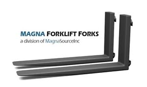 New Forklift Forks 72 Long Class 4 17000 Capacity Free Shipping Magna