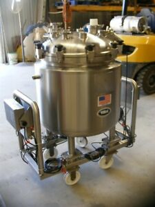 150 Liter 40 Gallon Sanitary Stainless Steel Pharmaceutical Reactor fermenter