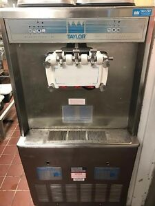 Make Offer Taylor Soft Serve 754 33 208 3ph Air Cooled Taylor Refurb