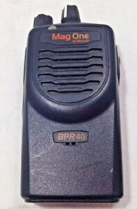 1 Motorola Mag One Bpr40 Aah84kds8aa1an 8ch Missing Antennae Vhf As is