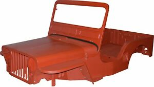 Reproduction Steel Body Kit 1950 1952 M38 Kaiser Fits Jeep Willys Md Juan
