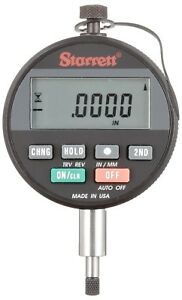 Starrett Wisdom Basic Digital Electronic Indicator 0 0 25 0 0005 usa Made