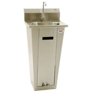 Eagle Group Hsa 10 fa p x Stainless Steel Pedestal Mount Base Hand Sink