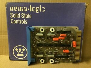 Westinghouse Nl359 Quad Adj Timer On off Delay Solid State Control Board New