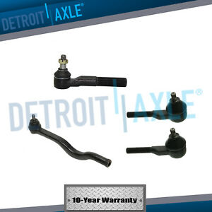 For Dodge D50 Ram 50 Mitsubishi Mighty Max Front Inner Outer Tie Rod Kit