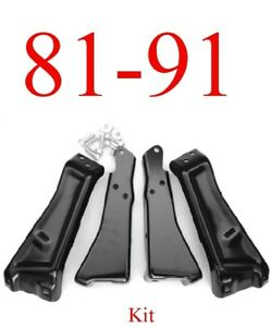 81 87 Chevy Rear Bumper Bracket Kit Hardware Gmc Truck Jimmy Blazer Suburban