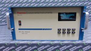 Used Thermo Environmental Instruments Inc Model 41c High Level Co2 Analyzer