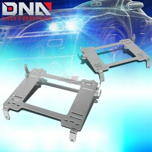 Nrg For Civic Fg2 Fa1 Fd2 Stainless Steel Racing Seat Mount Bracket Rail Track