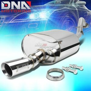J2 Stainless Steel Performance Axle Cat Back Exhaust 3 Tip For Toyota Corolla