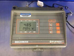 Beckman Phi 50 Ph Is Meter Part Number 123142