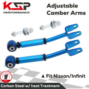 Rear Control Arm Camber Arm Kit Adjustable Fit For 2003 2008 Nissan 350z 370z