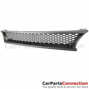 For Toyota Corolla 93 94 95 96 97 Front Bumper Mesh Hood Sport Grille Black 1pc