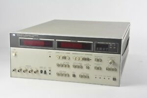Hp Agilent Keysight 4275a Multi frequency Lcr Meter W Opt 004 1 3 5