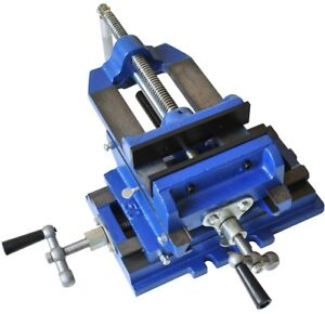 6 In Drill Press Cross Slide Vise Precision Machine Vice Square X y Xy Movement