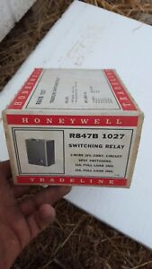 Honeywell New In Box R847b 1027 Switching Relay