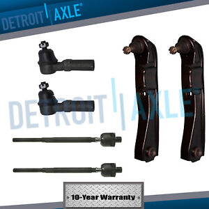 Fits Nissan 240sx Front Lower Control Arm Ball Joint Inner Outer Tie Rod Kit