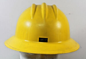 Vintage E D Bullard Hard Boiled Hard Hat Made In Usa Full Brim Construction
