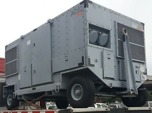 Engineered Air Systems Mobile Ac Air Conditioning Unit On Trailer Wheels 30 Ton