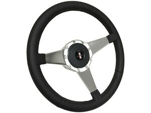 1985 1992 Camaro Iroc S9 Sport Leather Steering Wheel Kit Solid 3 spoke