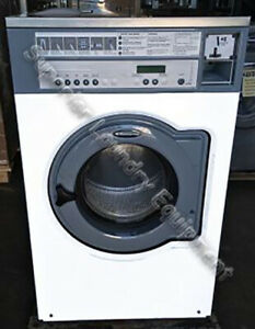 Wascomat E630 Emerald Washer Stainless Steel Coin 220v 3ph Reconditioned